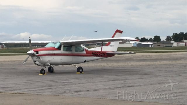 Cessna Centurion (N6534N) - It was parked on tarmac