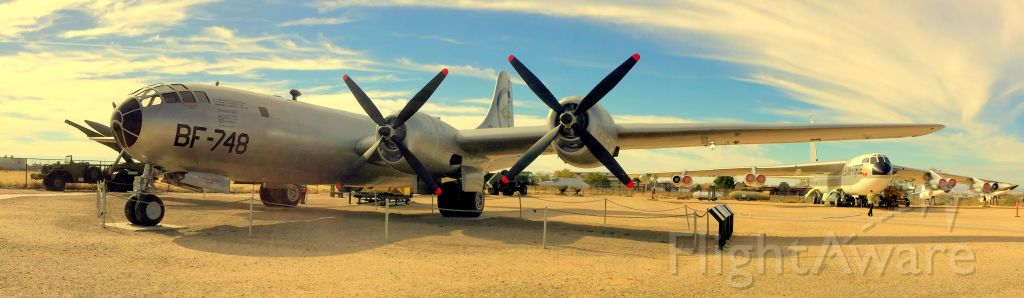 Boeing B-29 Superfortress (BBD748) - WWII B-29 on display at the Nuclear Science and Technology Museum in Albuquerque.