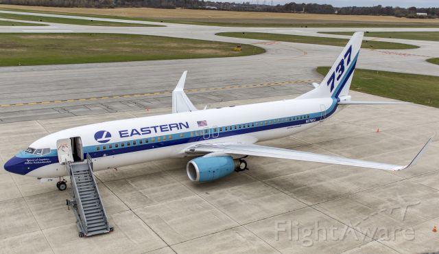 Boeing 737-800 (N276EA) - EAL Charter flight