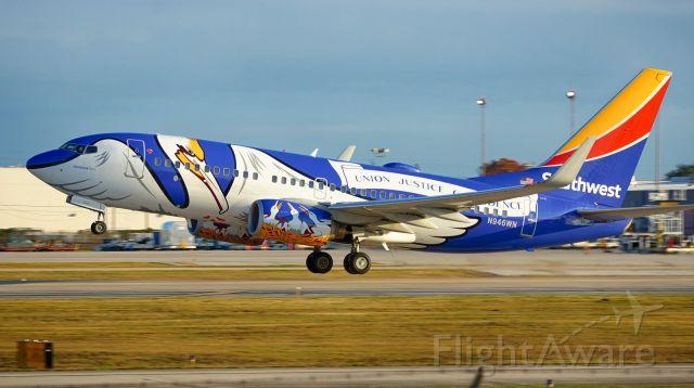 Boeing 737-700 (N946WN) - Departing 4.