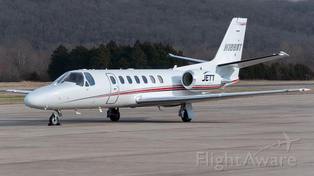 Cessna Citation V (N189WT) - kfyv