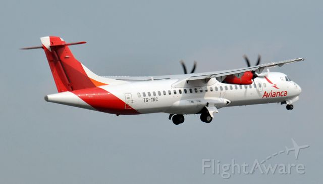 ATR ATR-72 (TG-TRC) - Avianca Guatemala (Aviateca)br /ATR72-600 (72-212A)