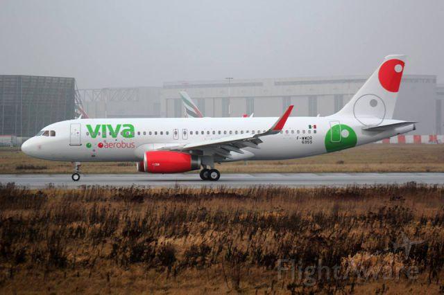 Airbus A320 (XA-VAR)