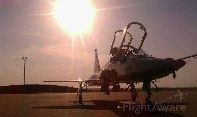 Northrop T-38 Talon — - TacAir ramp.