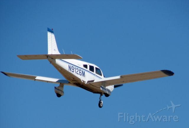 Piper Cherokee (N9126M) - Piper Cherokee landing at KCHD 2-9-2008