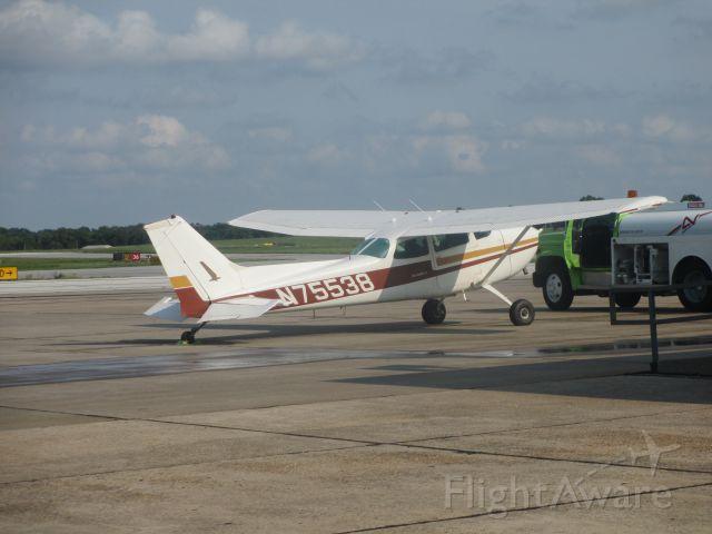 Cessna Skyhawk (N75538) - Alpha Air Center @ Joplin,MO. A 1976 Cessna.