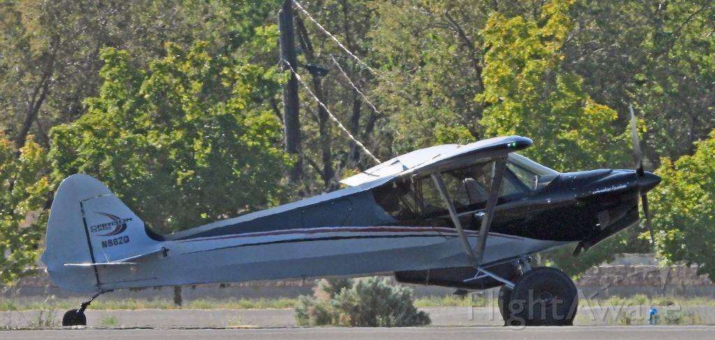 Piper L-18B Cub Special (N88ZQ) - Taxiing on alpha