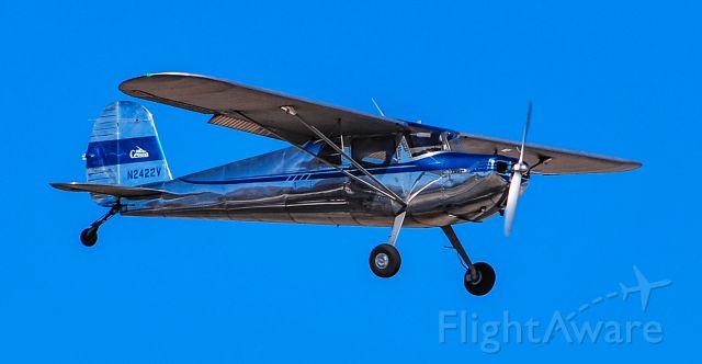 Cessna 140 (N2422V) - N2422V 1948 CESSNA 140 s/n 14669 - North Las Vegas Airport (IATA: VGT, ICAO: KVGT,)<br />Photo: TDelCoro<br />February 8, 2020