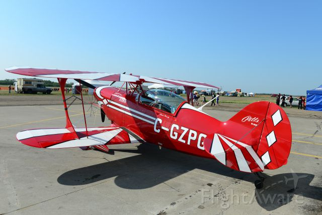 PITTS Special (S-2) (C-GZPG) - 2014 Peace Regional Air Show - July 13 2014