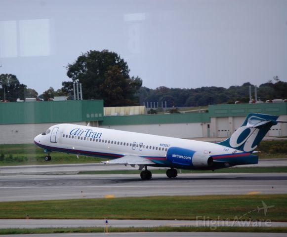 Boeing 717-200 (N899AT) - Taken on 9/26/2009