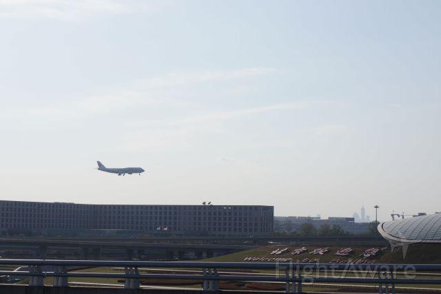 BOEING 747-8 (B-2485) - Hello B748, welcome to Beijing.