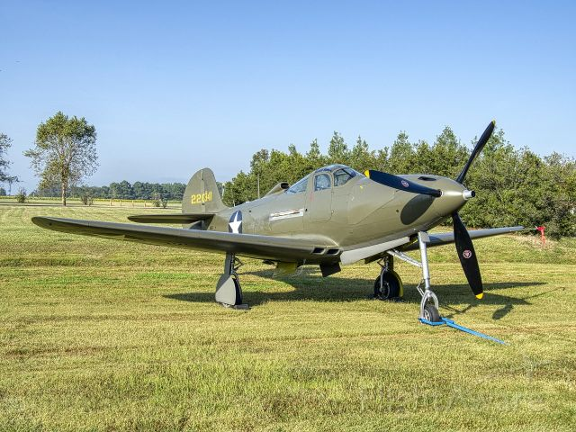 N39FF — - P-39F enjoying the sun at the Military Aviation Museum in Virginia Beach Virginia. Worth a drive and a day or two.