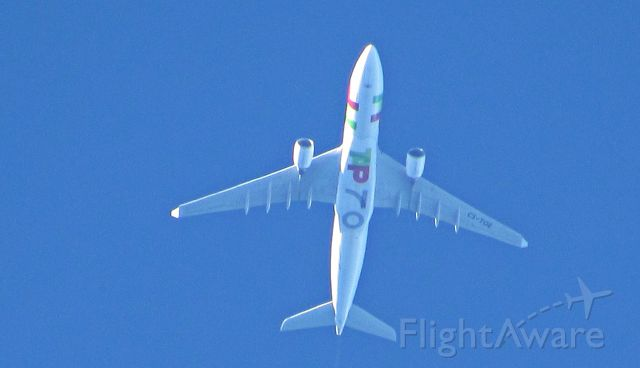 Airbus A330-200 (CS-TOE) - 30.000 ft