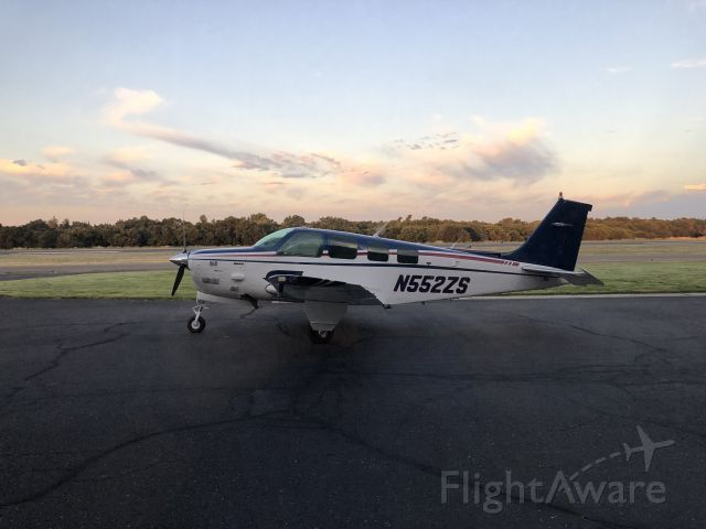 Beechcraft Bonanza (36) Turbo (N552ZS)