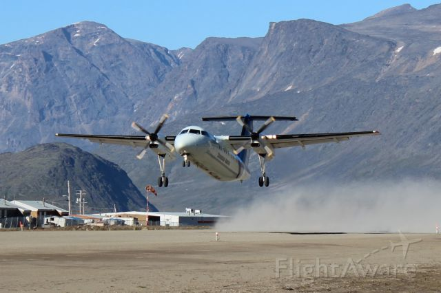 C-GECN — - Dash 8 Taking Off From CYXP