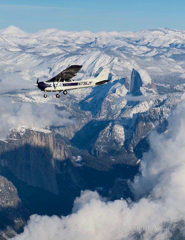 N736JY — - Scenic Flight Near Yosemite National Park