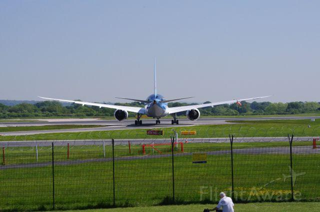 G-TUIB — - Dreamliner crew training flight from Manchester 6 June 2013