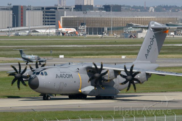 AIRBUS A-400M Atlas (F-WWMS) - Airbus Military A-400M Atlas, Taxiing Before Take-off Rwy 14R, Toulouse Blagnac Airport (LFBO-TLS)