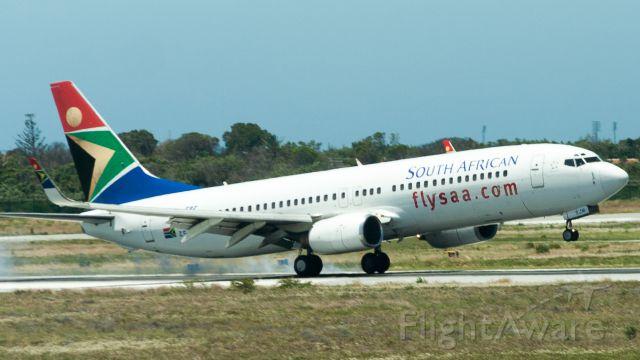 Boeing 737-800 (ZS-SJM)