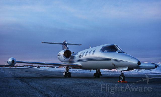 Learjet 35 (N244LJ) - Visiting CYHU on Feb. 5, 2020