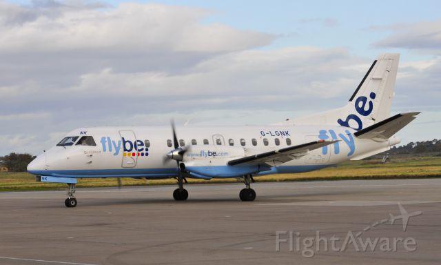 Saab 340 (G-LGNK) - Flybe Loganair Saab 340B G-LGNK in Inverness