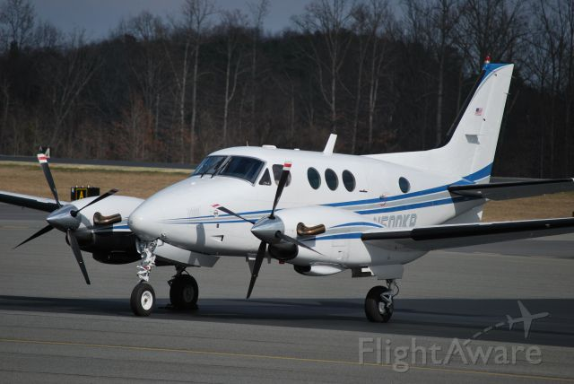 Beechcraft King Air 90 (N500KR) - NORTH CAROLINA STATE BUREAU OF INVESTIGATION - 2/25/10