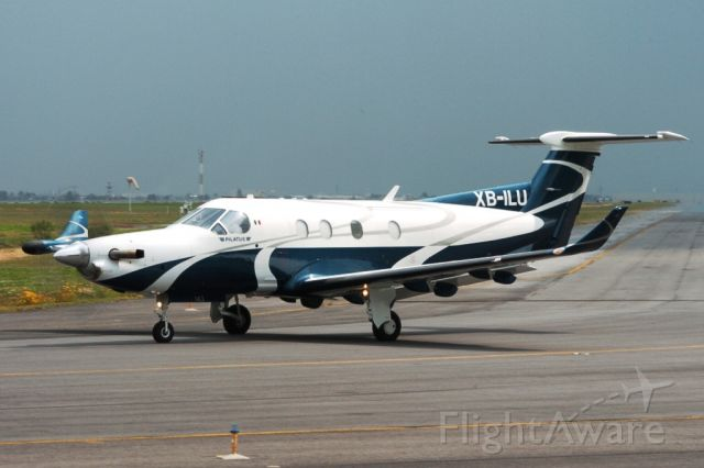 Pilatus PC-12 (XB-ILU)