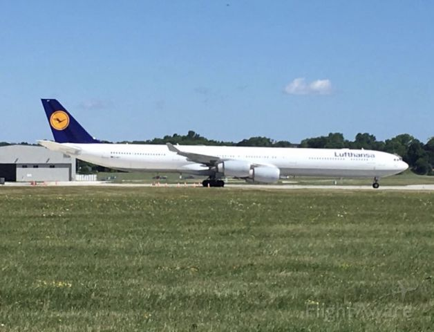 Airbus A340-600 — - Mechanical diversion enroute to ORD