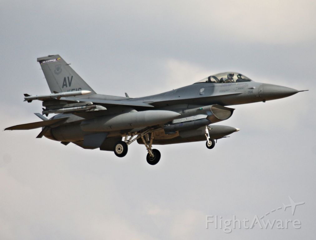 Lockheed F-16 Fighting Falcon (N88516) - USAF F16 88-516 31 Fighter wing from Aviano