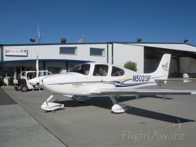 Cirrus SR-22 (N5023F) - Cirrus SR22 at San Luis Obispo, CA