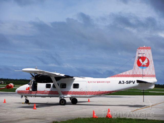 A3-SPV — - Preparing for departure to Eua on a very short commercial flight (23 kilometres)