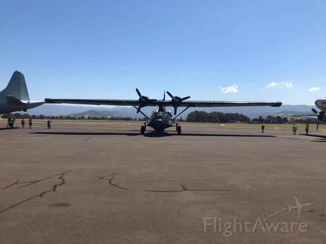 — — - HARS museum Catalina Flying Boat A24-362/VH-PBZ