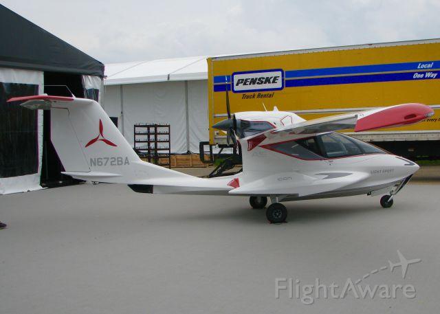 ICON A5 (N672BA) - AirVenture 2016.    ICON AIRCRAFT INC  A5