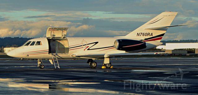 Dassault Falcon 20 (N760RA)