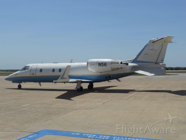 Learjet 60 (N56) - FAA, My tax dollars at work.