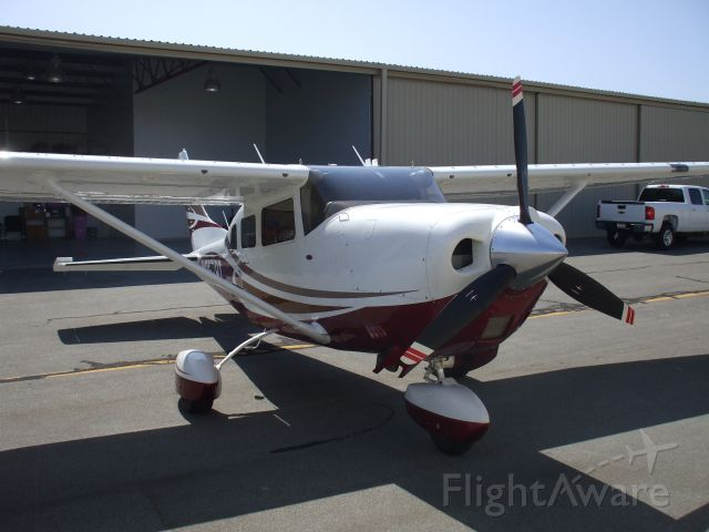 Cessna T206 Turbo Stationair (N957BT) - In front of my hangar at KTOA