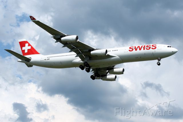 Airbus A330-300 (HB-JMB) -