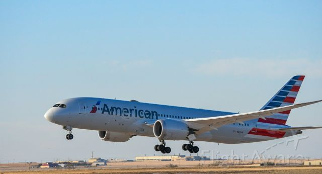 N807AA — - out by the runway