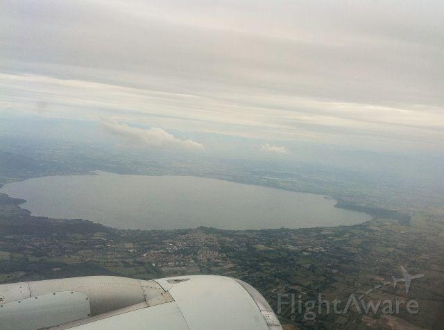 Airbus A320 — - Near Rome
