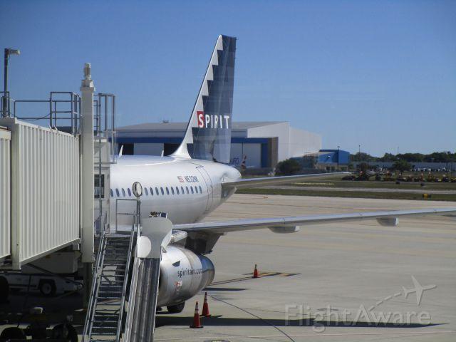 Airbus A320 (N532NK)