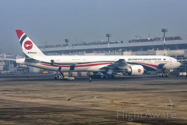 BOEING 777-300 (S2-AHN) - 1st Jan., 2017