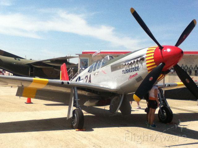 North American P-51 Mustang (AMU61429) - Commemorative Air Force - Tuskegee at Andrews AFB (ADW) Maryland USA May 19, 2012