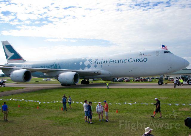 BOEING 747-8 (B-LJA) - AirVenture 2016.