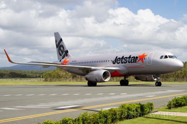 Airbus A320 (VH-VFX)