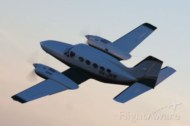 Cessna 421 (VH-JRW) - Airspeed Aviation's Cessna 421C does regular charter runs between the NSW and QLD Coalfields