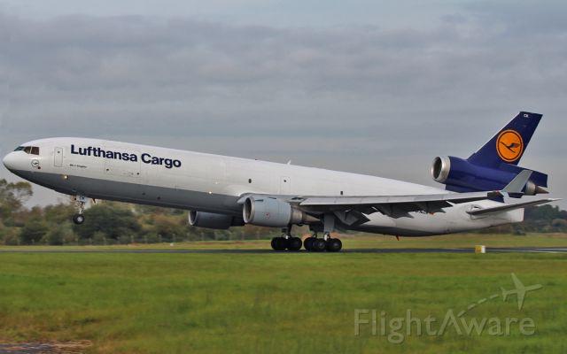 Boeing MD-11 (D-ALCK) - lufthansa cargo md-11f d-alck dep shannon 14/10/15.