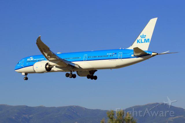 Boeing Dreamliner (Srs.8) (PH-BHA) - Passing over...