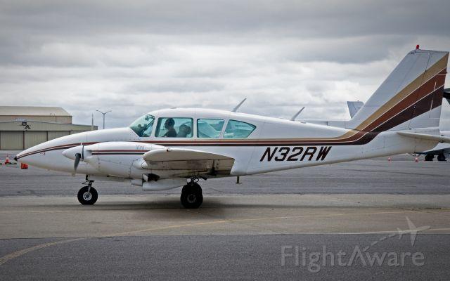 Piper Aztec (N32RW) - Napa Airport Sept. 7, 2019