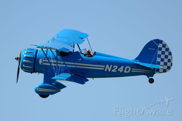 Piper Cherokee Arrow (N24D) - Departing Runway 26