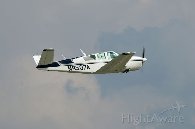 Beechcraft 35 Bonanza (N8507A) - A very nice V-tail Bonanza.